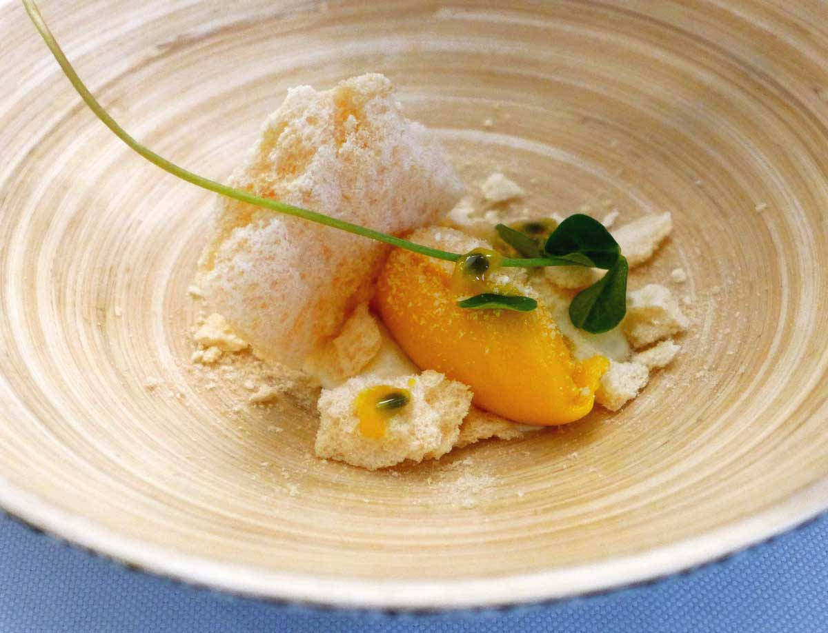 Restaurant Louis : Sorbet mangue