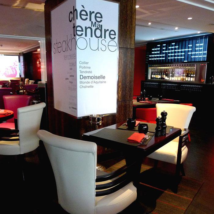 Restaurant Ma Chère & Tendre, Bel espace et mobilier confortable