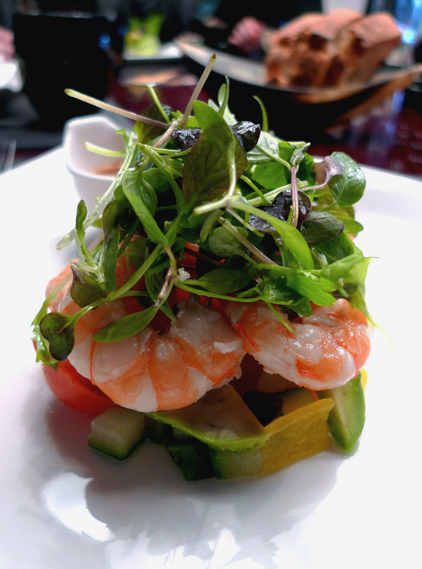Restaurant Ma Chère & Tendre, Crevettes Crystal Bay comme dans le Maryland