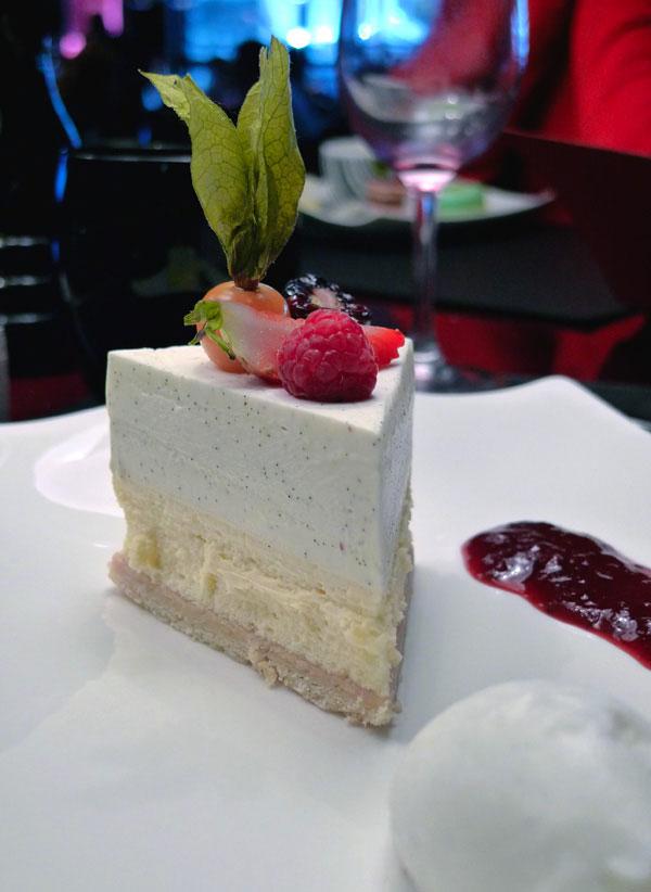 Restaurant Ma Chère & Tendre, Cheesecake à la marmelade de fraise