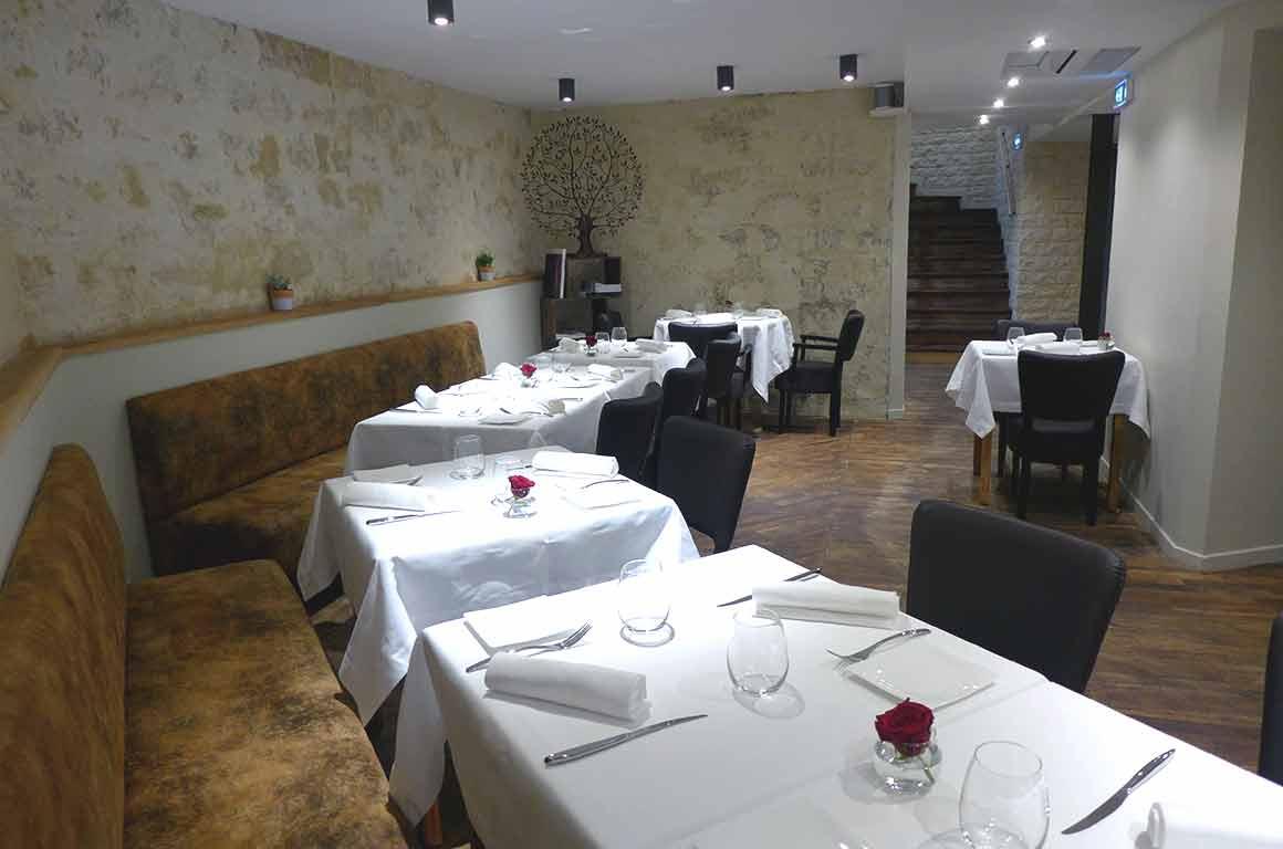 Restaurant Pleine Terre, La salle