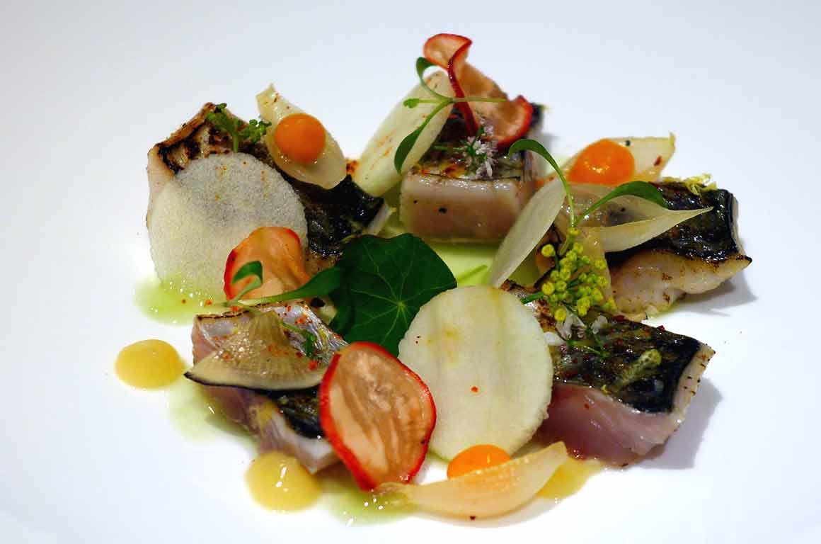 Restaurant Pleine Terre, Maigre avec coco de Paimpol