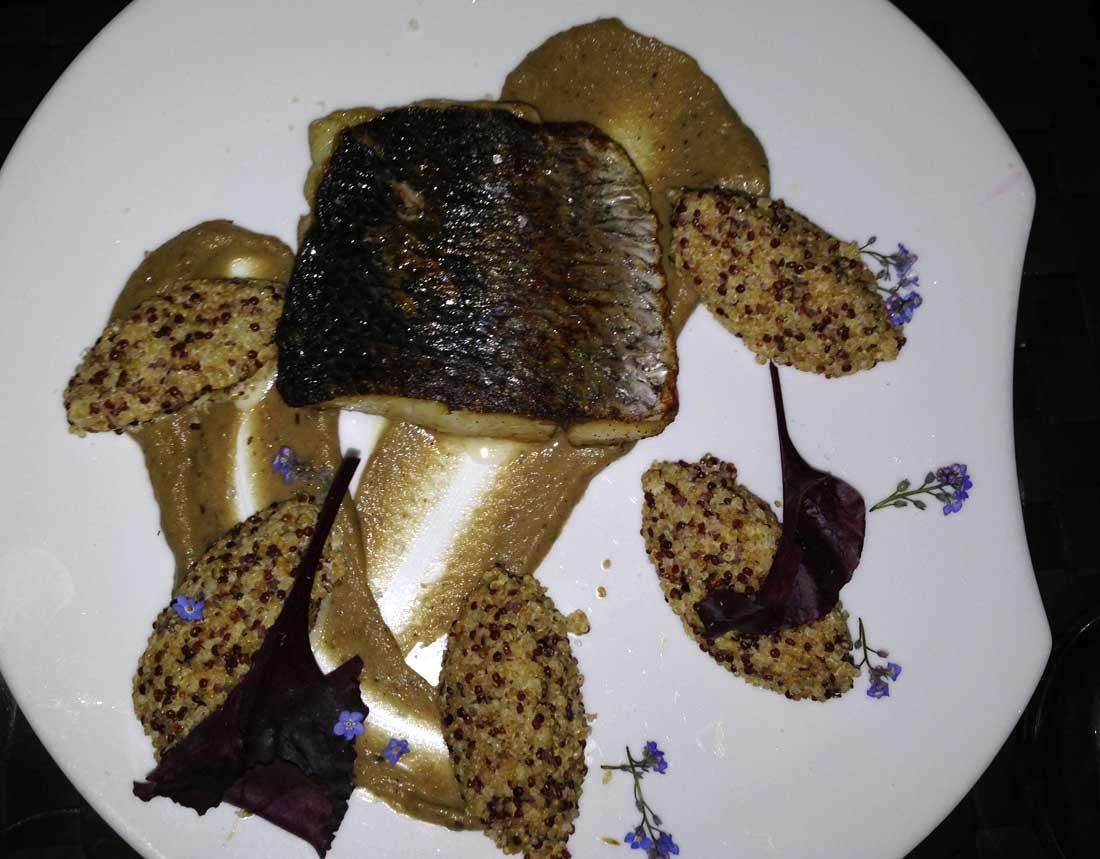 Restaurant Maguey : Fumé aux aiguilles de pin