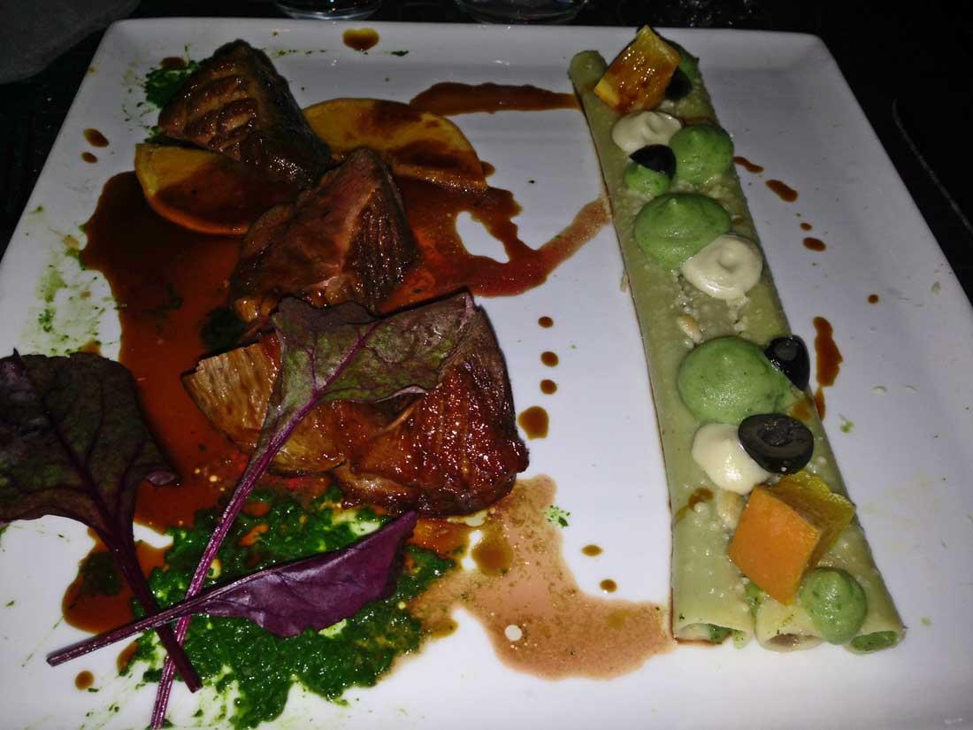 Restaurant Maguey : Magret de canard laqué