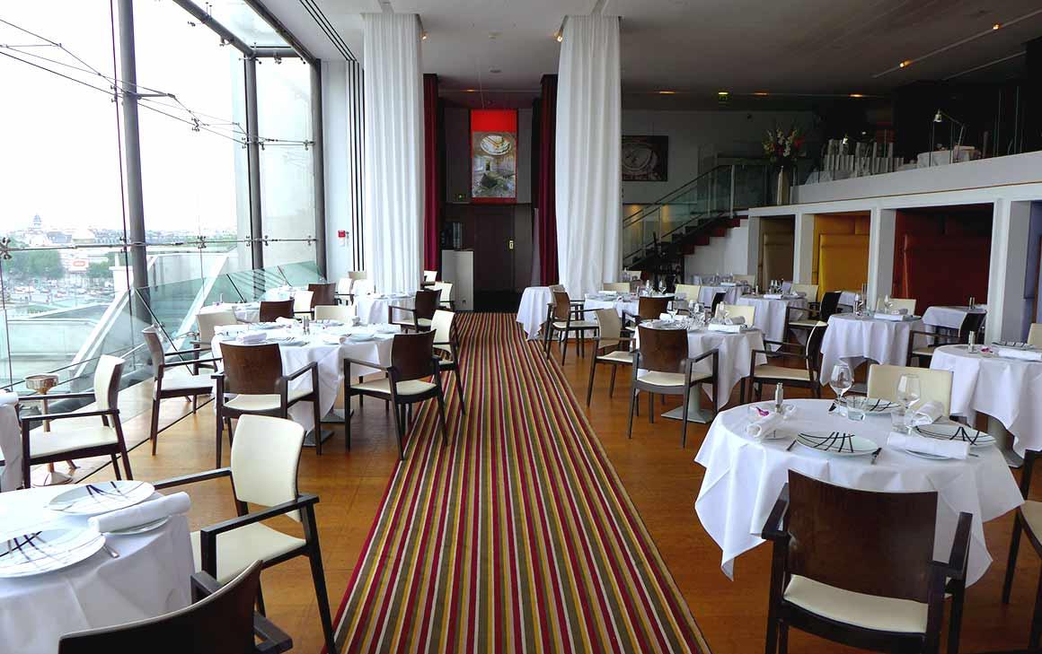 Restaurant Maison Blanche, La salle