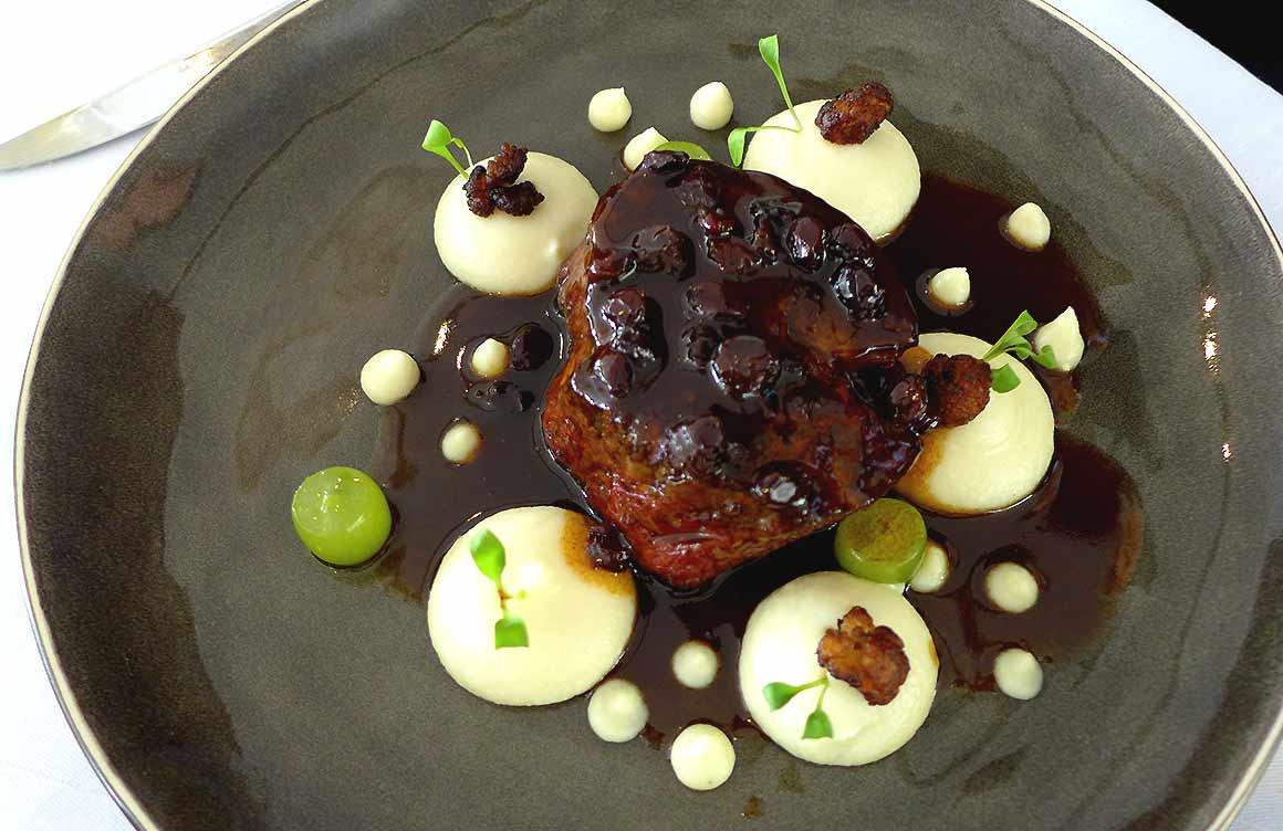 Restaurant Maison Blanche, Black Angus poêlé