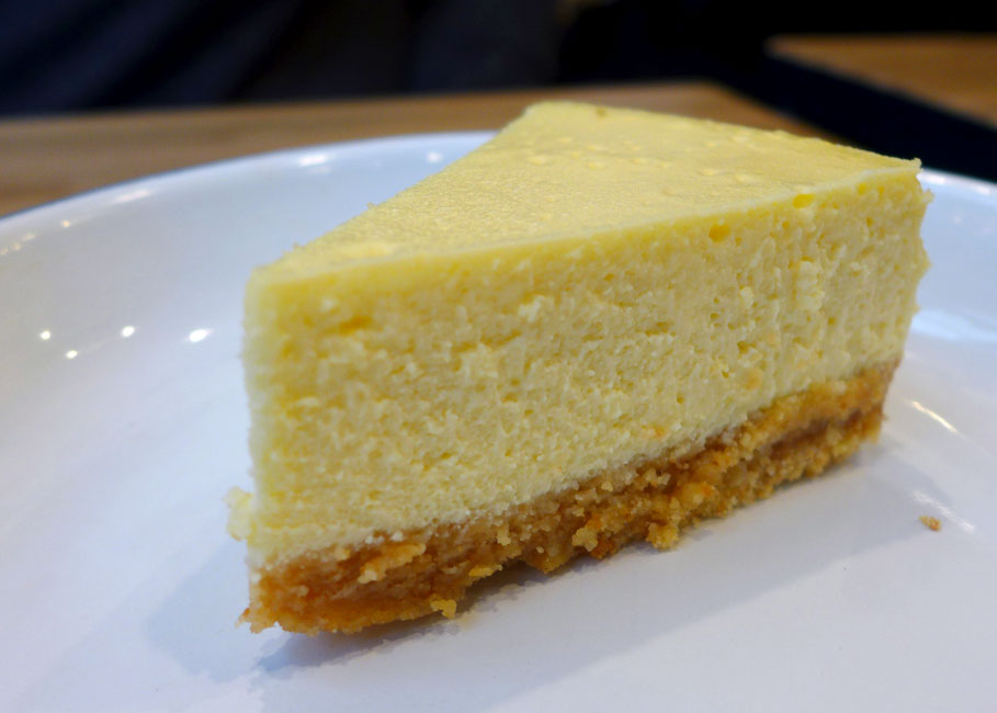 Restaurant Maison Burger, cheesecake
