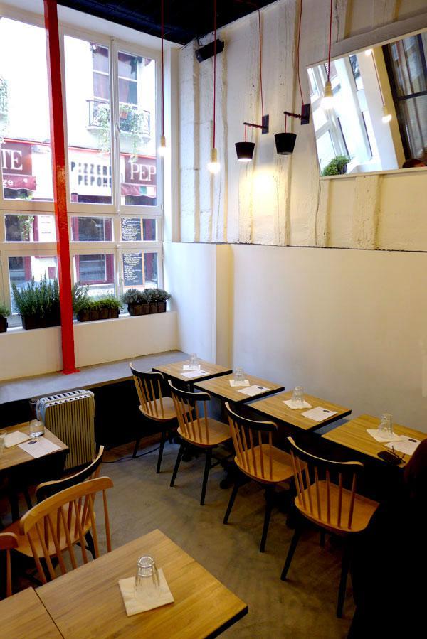 Restaurant Maison Burger, la salle