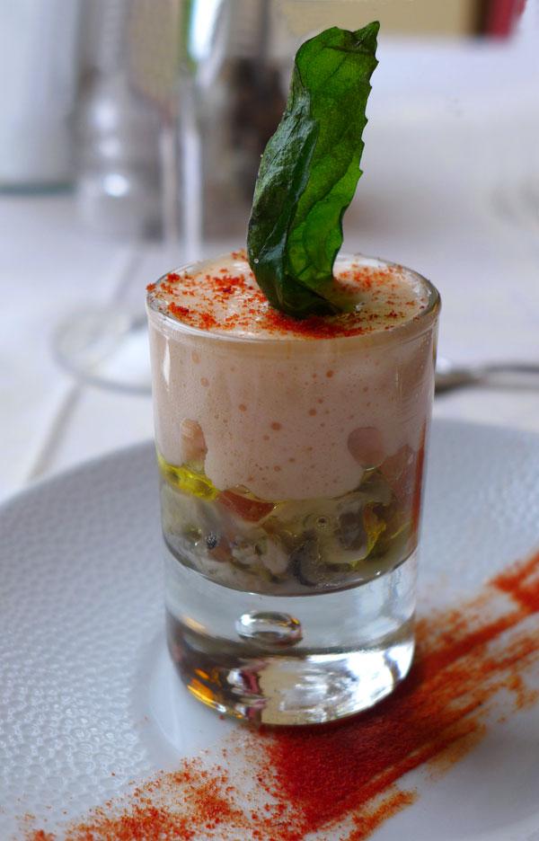 La Maison de l'Amérique Latine : Le tartare d'huîtres