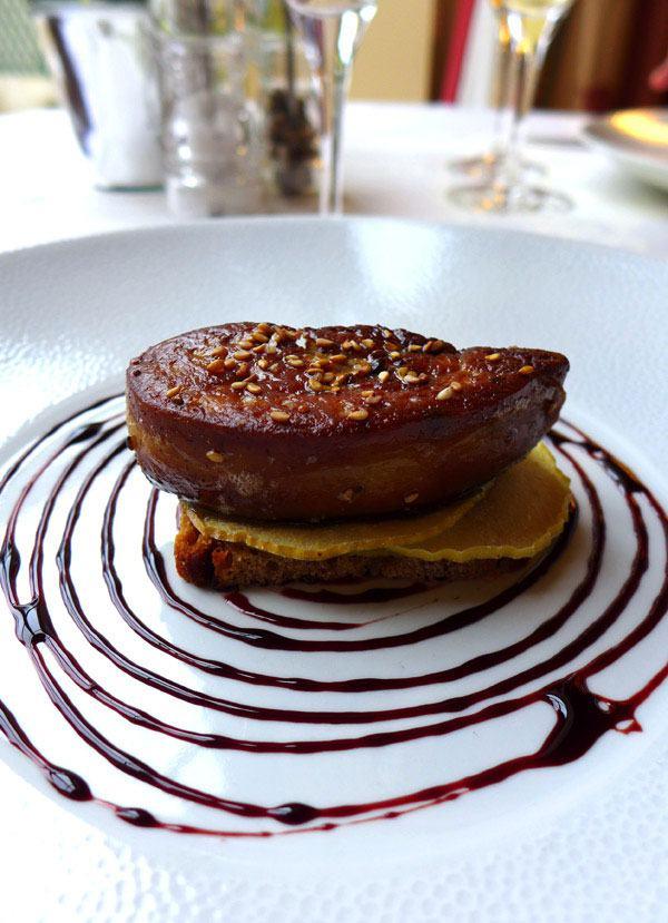 La Maison de l'Amérique Latine : Déclinaison de foie gras