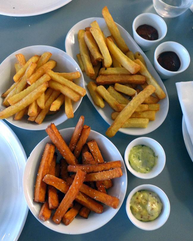 Restaurant Maison F : Frites à la graisse de canard