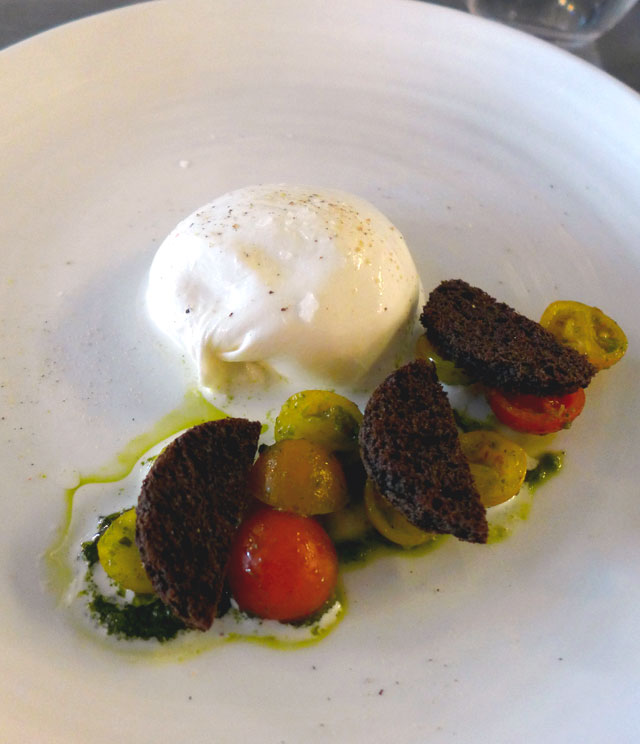 Restaurant Maison F : Burrata di Bufala
