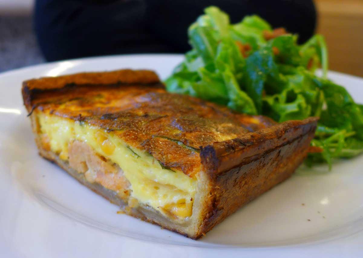 Restaurant Maison Plisson, tarte à la volaille