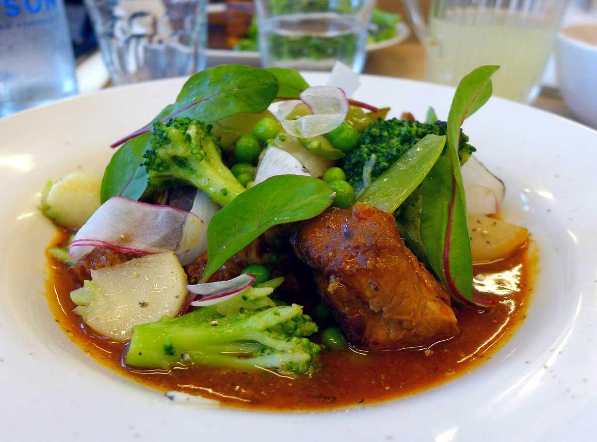 Restaurant Maison Plisson, sauté de veau