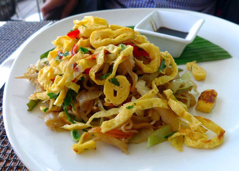 Restaurant Makassar, Le mie jamur