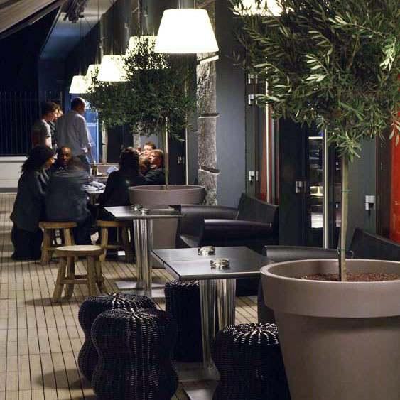 Restaurant Mama Shelter, La terrasse