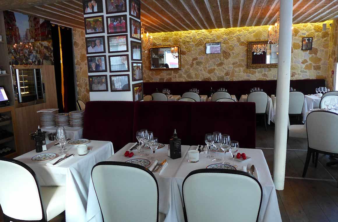 Restaurant Mamo, La salle