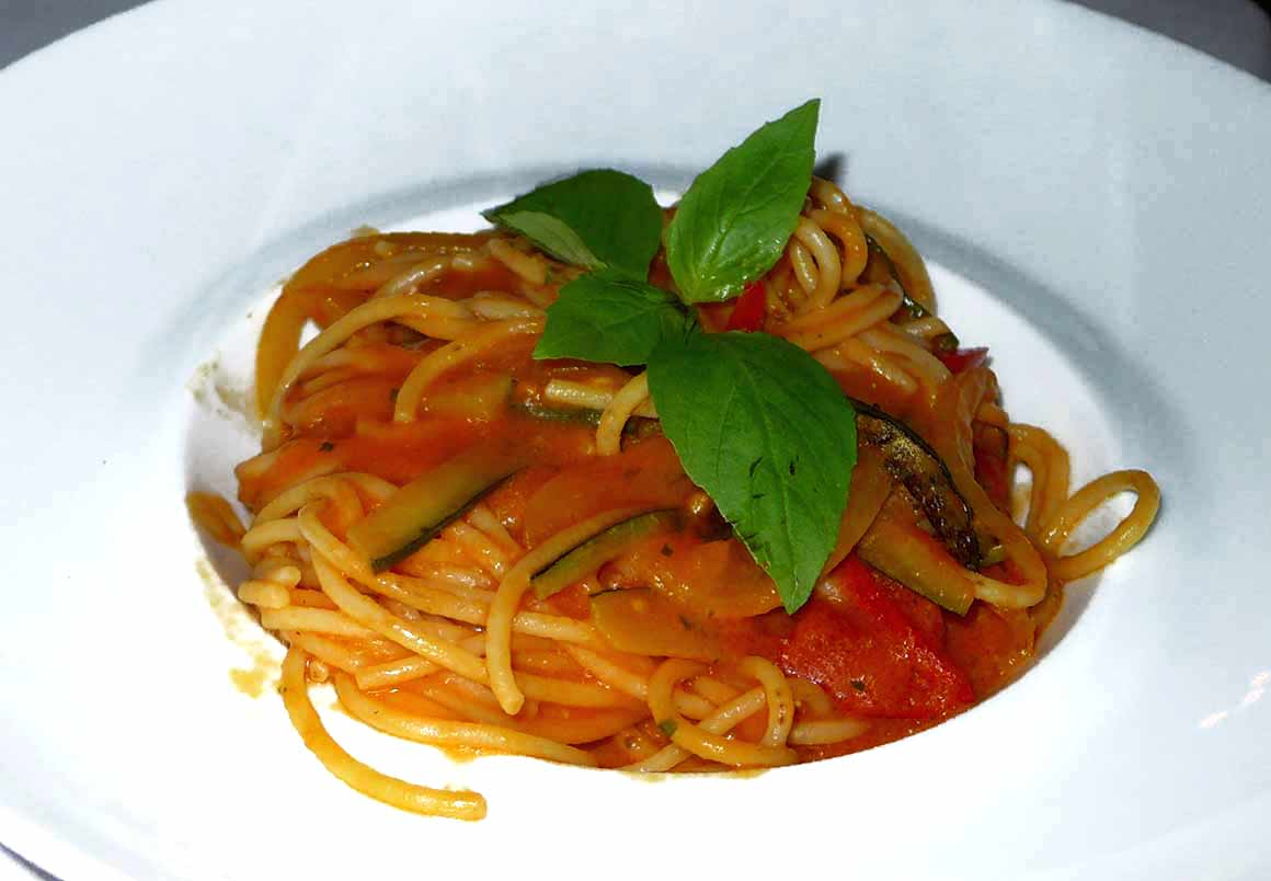Restaurant Mamo, Spaghetti Michelangelo