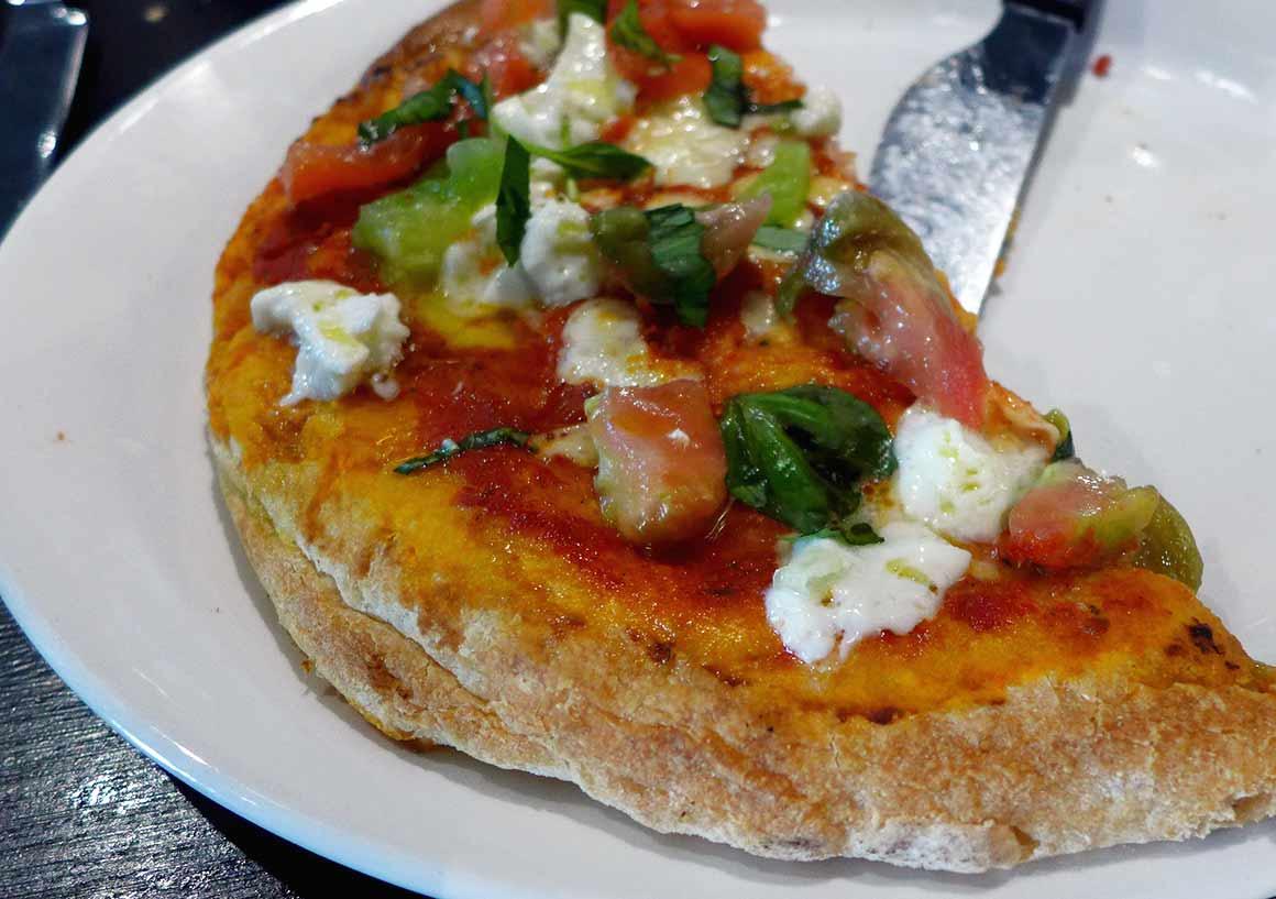 Restaurant Marcella, Pizza à la coupe