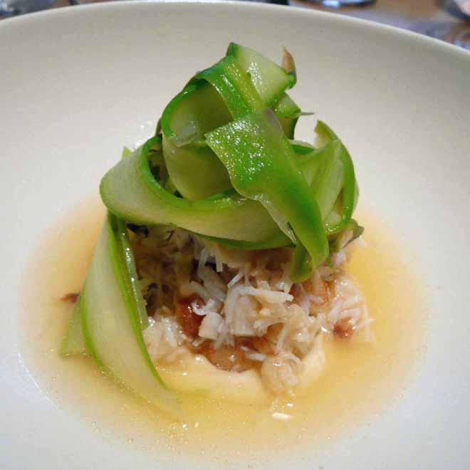 Restaurant Le Market : Salade de crabe et d'asperges