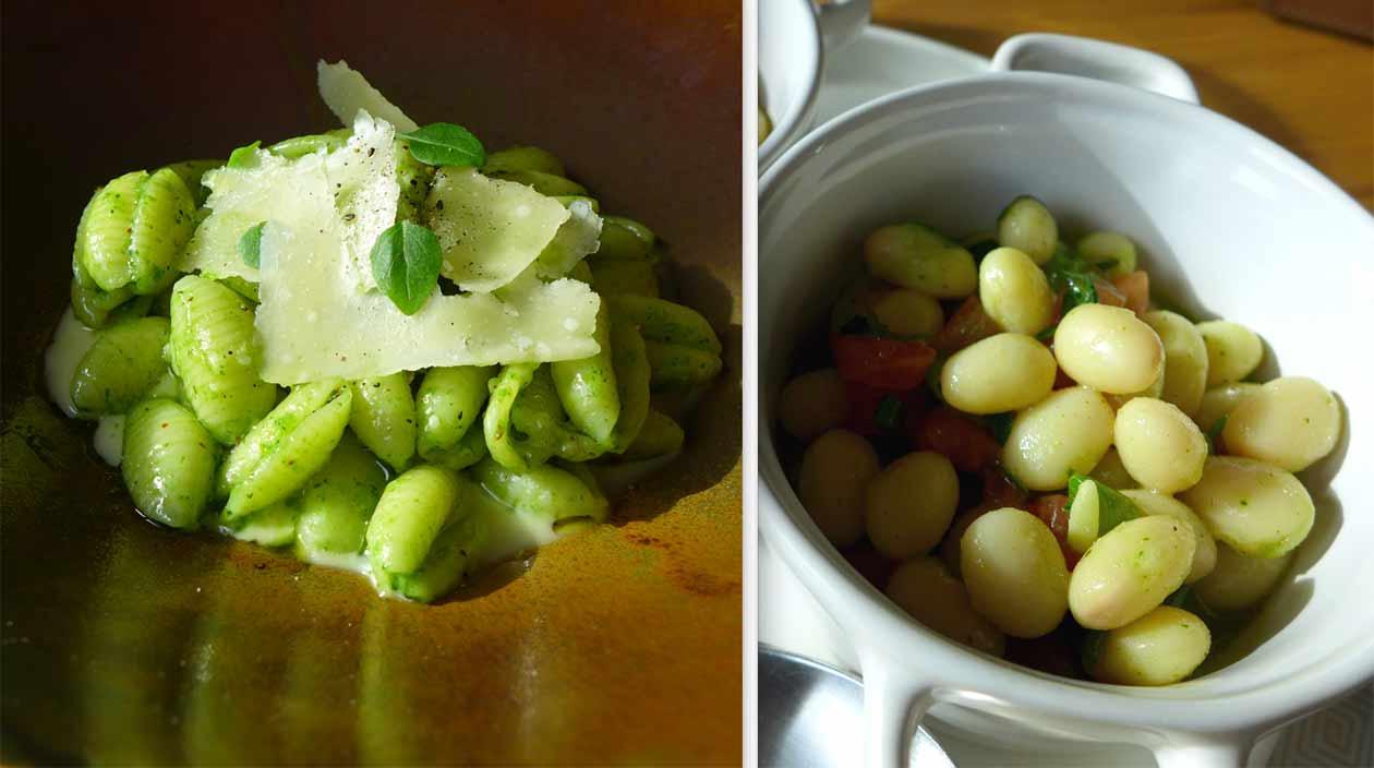 Restaurant Mavrommatis Passy : Gnocchis Sarde