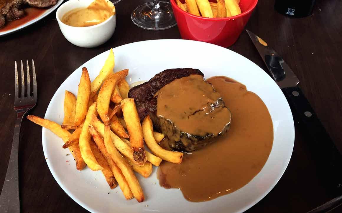 Restaurant Meat, filet au poivre