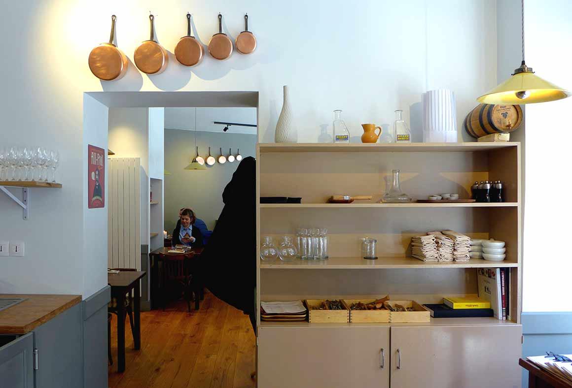 Restaurant Mensae, La salle