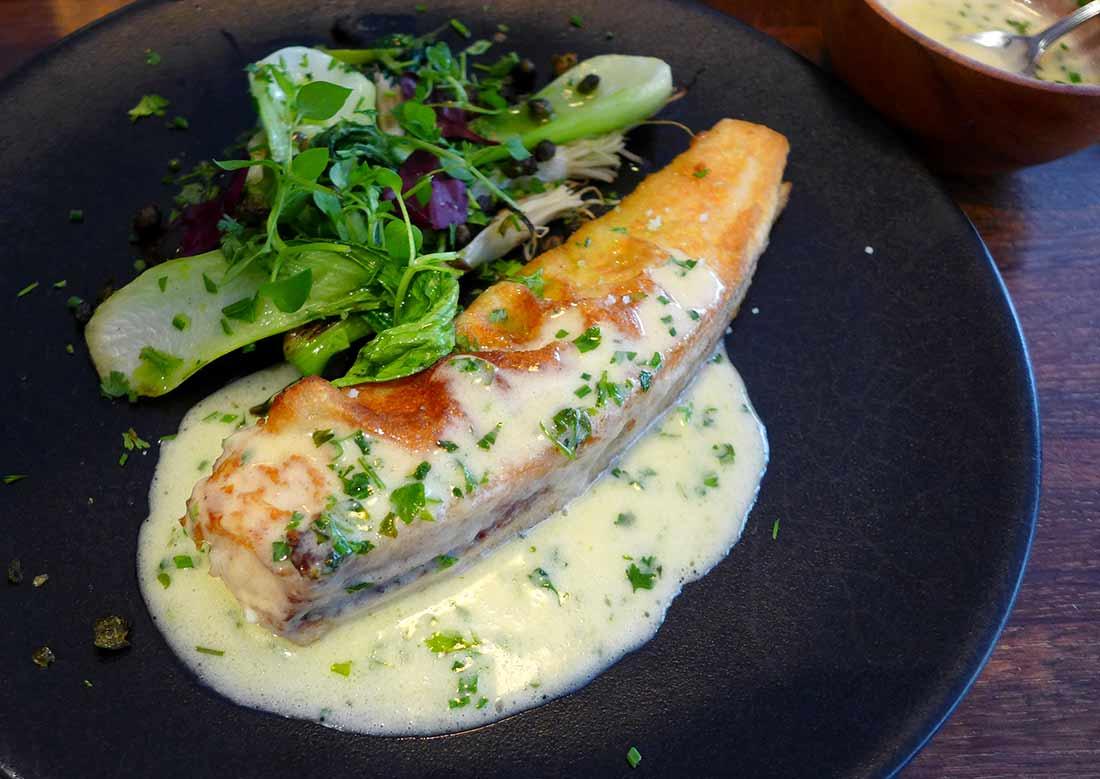 Restaurant Mensae, Sole meunière au beurre