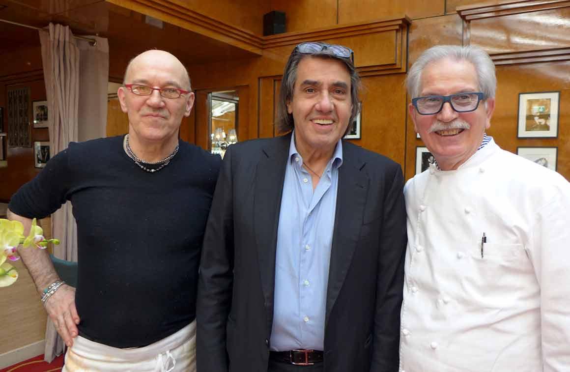 Alberico Penati, Pier Silli, Sergio Mei