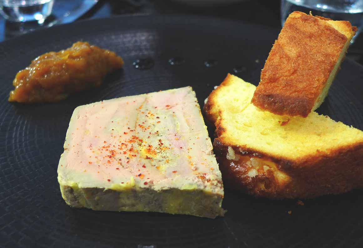 Restaurant Miam, Foie gras de canard maison
