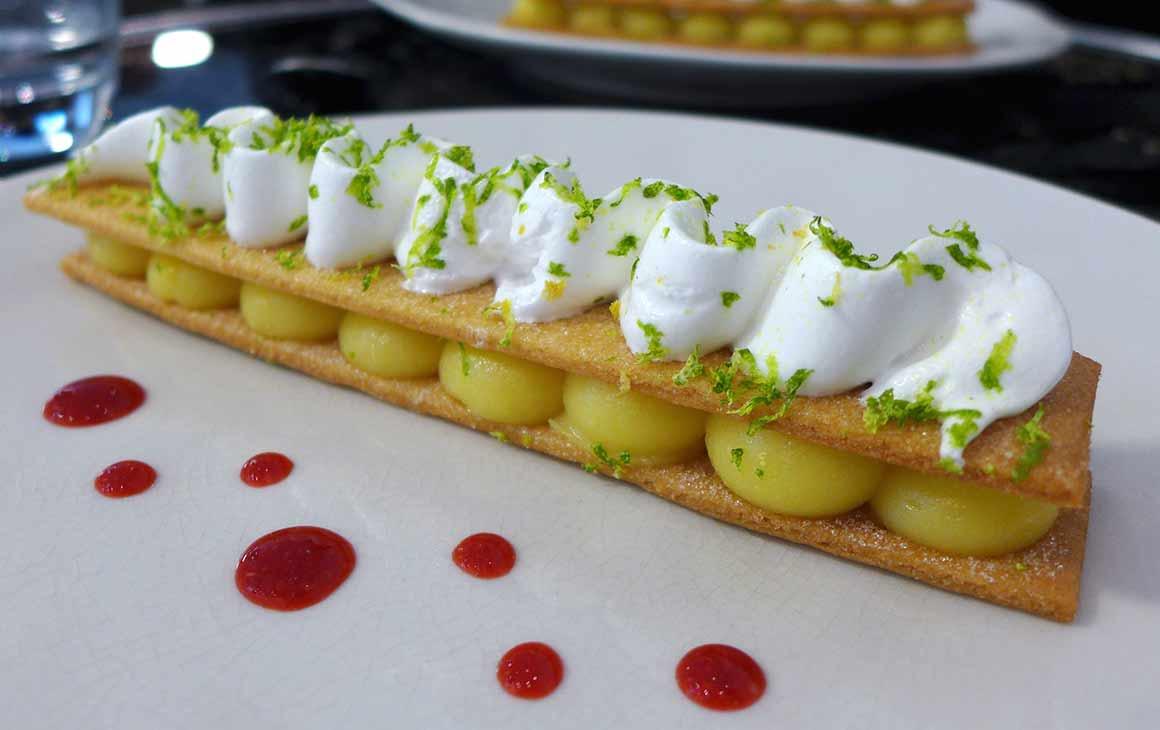 Restaurant Miam, Tarte citron meringuée