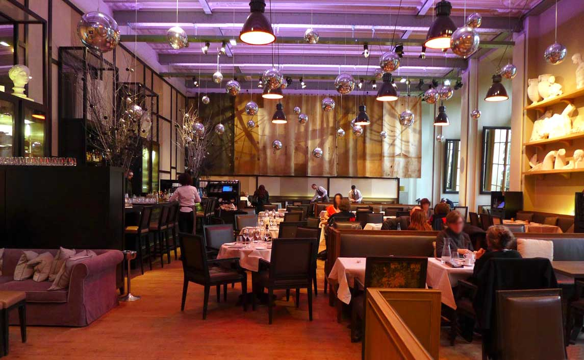 Restaurant Mini Palais : La salle