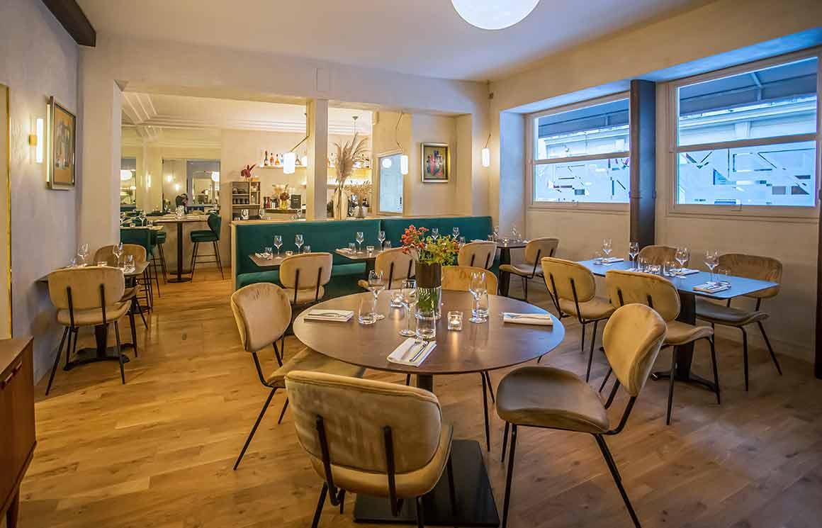 Restaurant Miura, la salle du restaurant