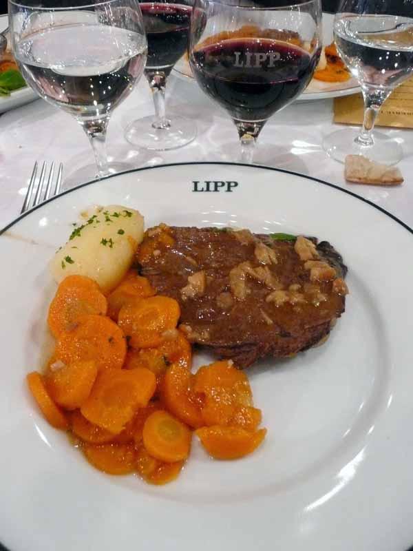 Brasserie Lipp : Bœuf mode aux carottes