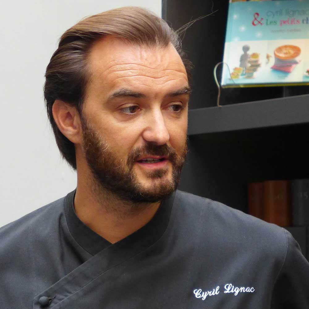 Restaurant Le Quinzième : Le Chef Cyril Lignac