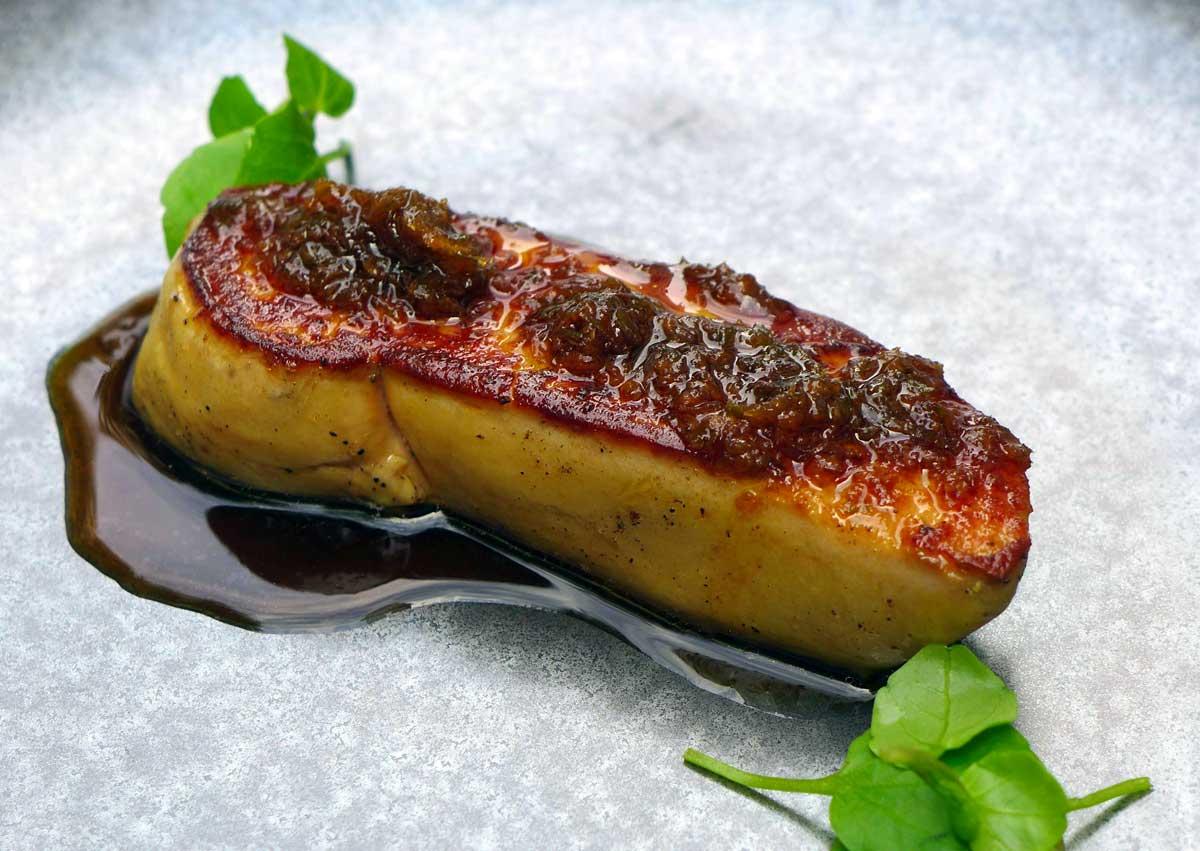 Restaurant Le Quinzième : Escalope poêlée de foie gras de canard