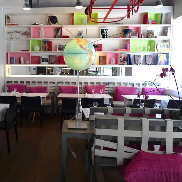 Restaurant Les Mots Passant, la salle