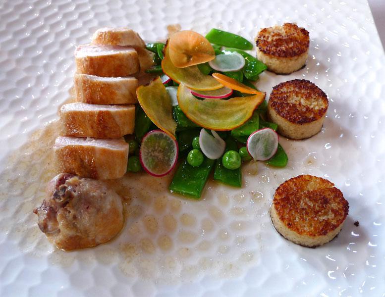 Restaurant Les Mots Passant, suprême volaille fermière