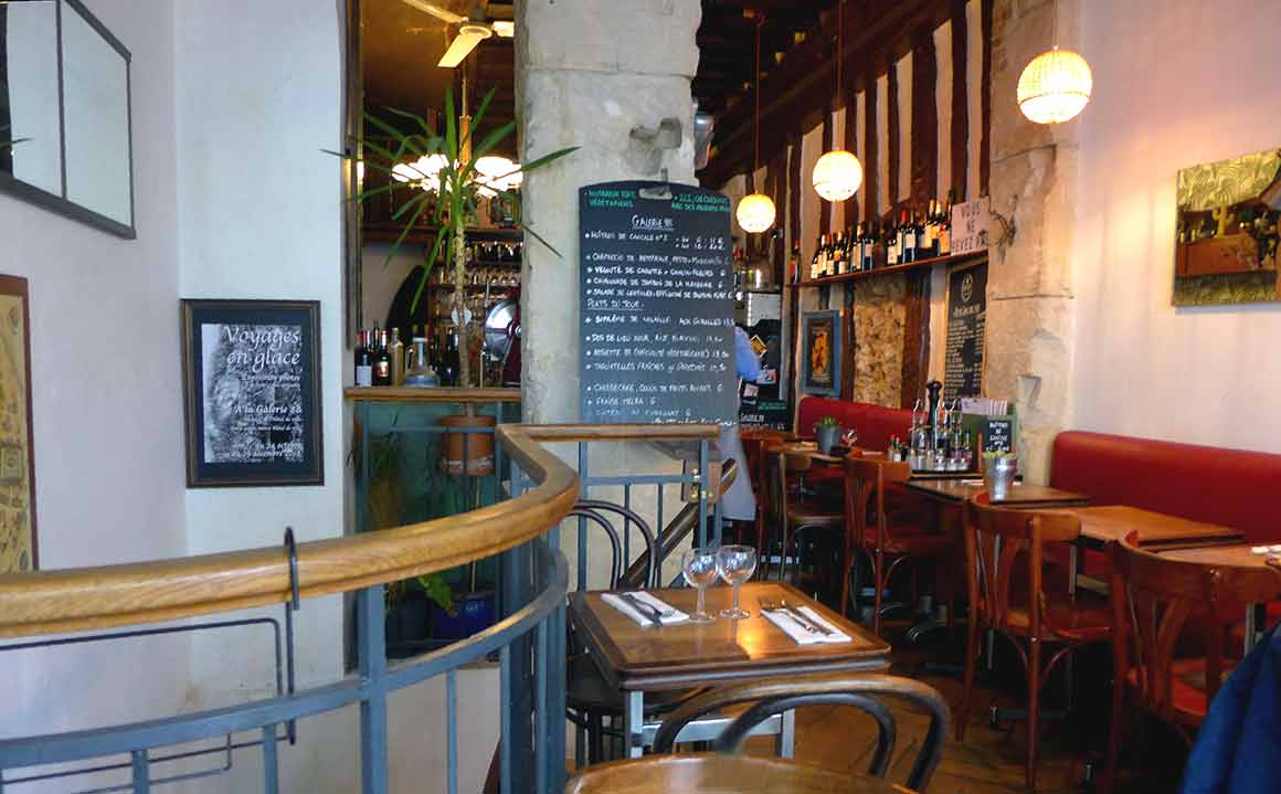 Restaurant La Galerie 88, la salle