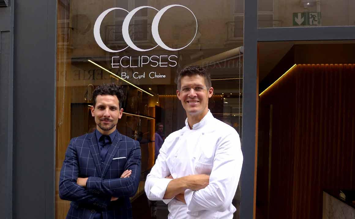 Restaurant Eclipses, nicolas Casal et le chef Cyril Choisne