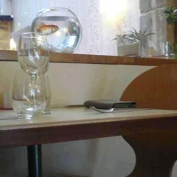 Restaurant Monjul, la table