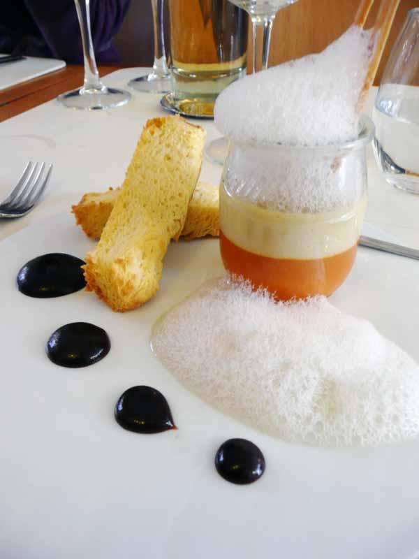 Restaurant Monjul, un plat
