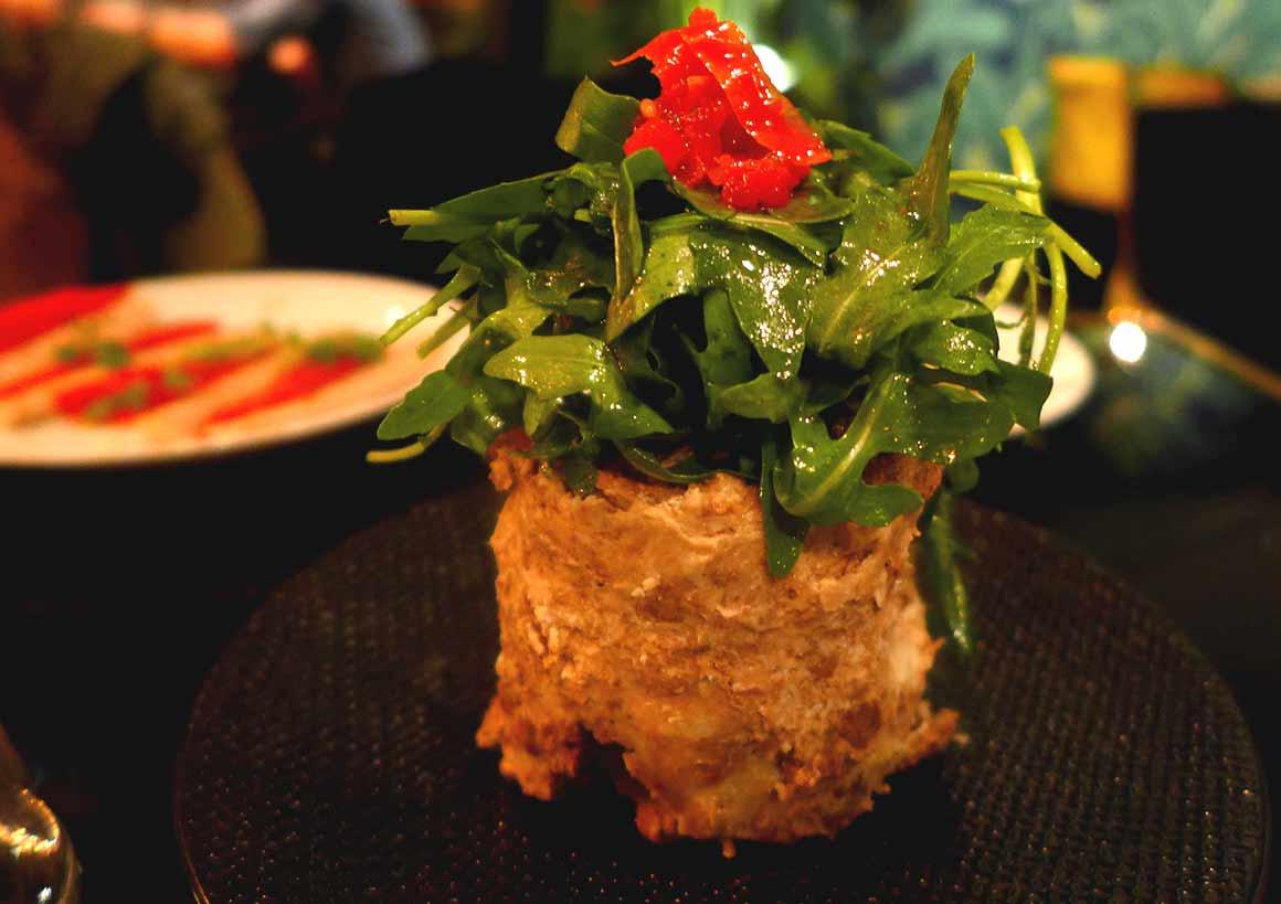Restaurant Monkey, Terrine de Noir de Bigorre