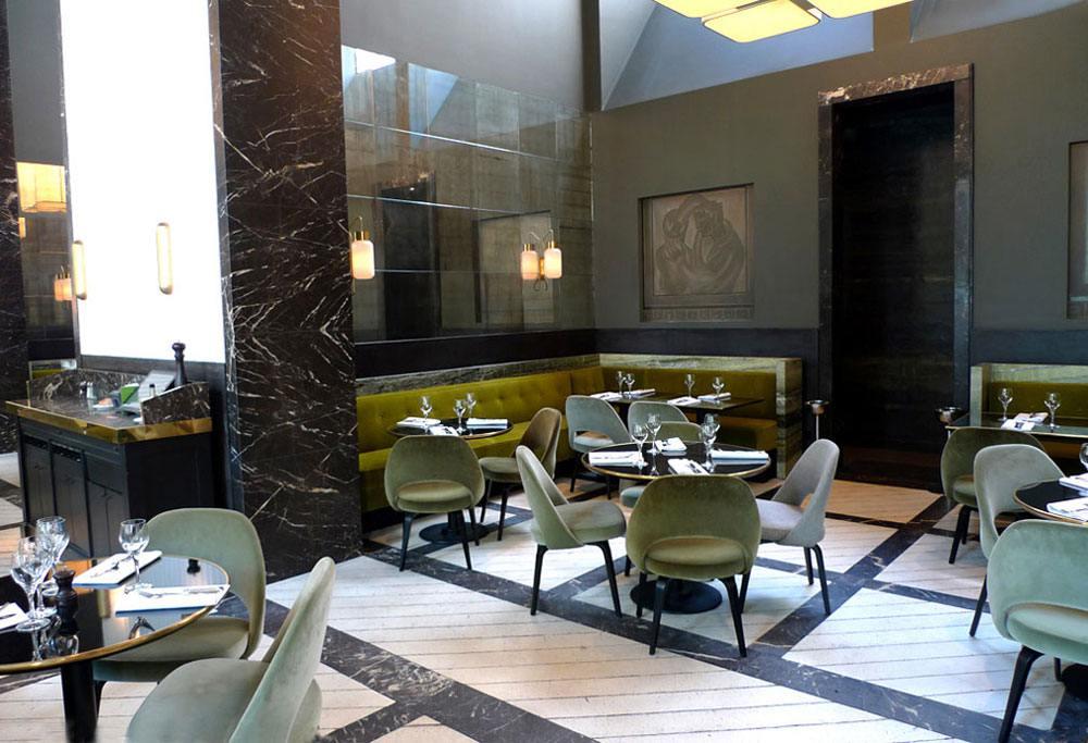 Restaurant Monsieur Bleu, la salle