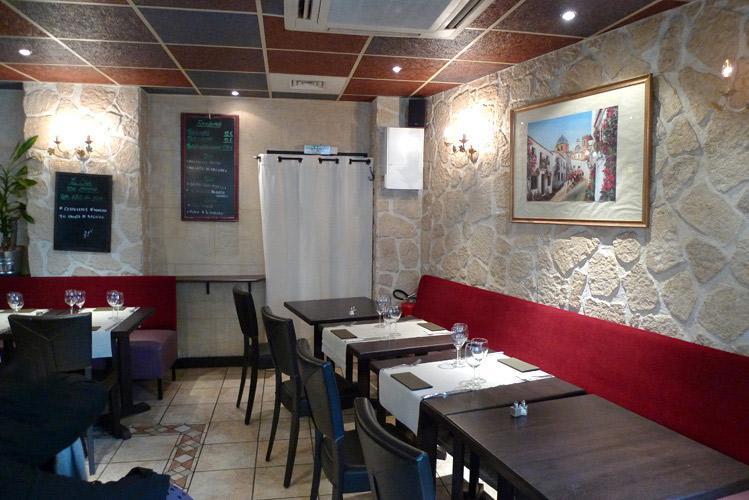 Restaurant Monteleone, la salle
