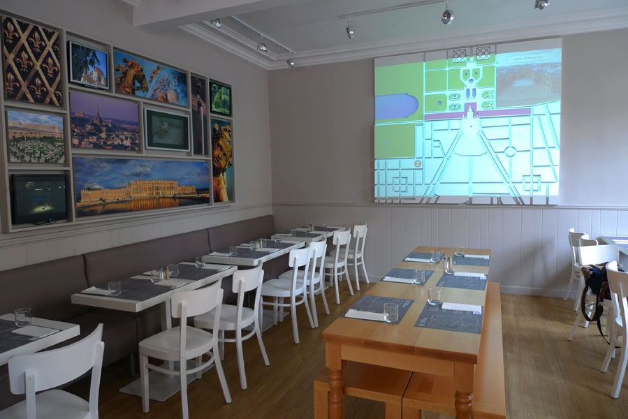 Restaurant Monument  Café : La salle