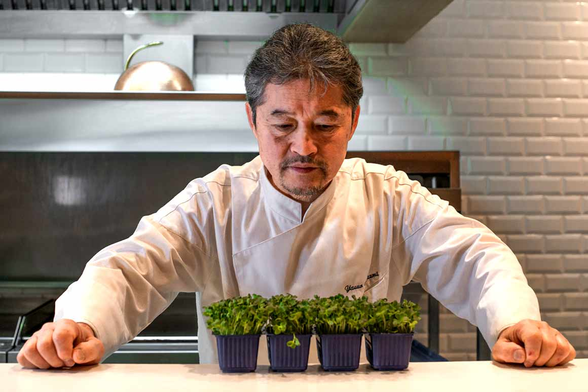 Le chef Yasuo Nanaumi