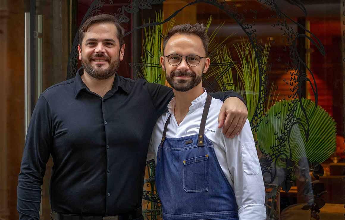 restaurant Mumi Thibault Passinge et le chef Romain Le Cordroch