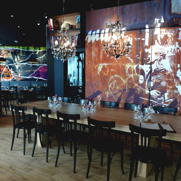 Restaurant Muxu, la salle
