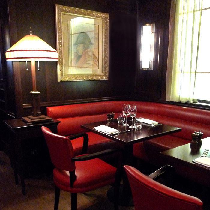 Confort des tables bien espacées
